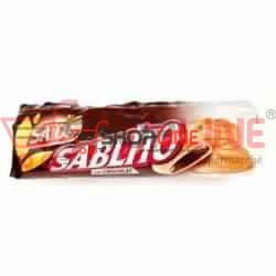 Biscuits Sablito Chocolat fourrés chocolat Saida 128 g