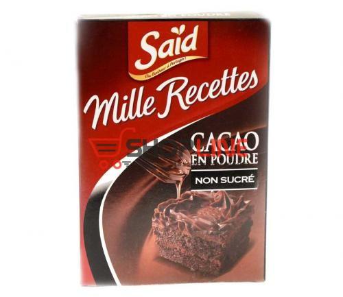 Cacao en Poudre Said non Sucre 250g