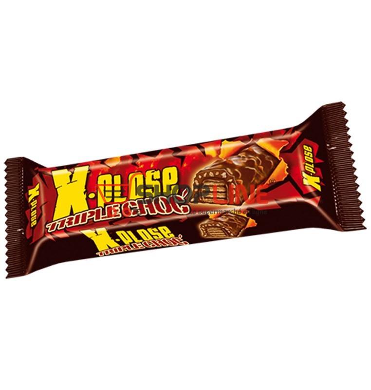 Chocolat X.Plose Triple Choc 35g