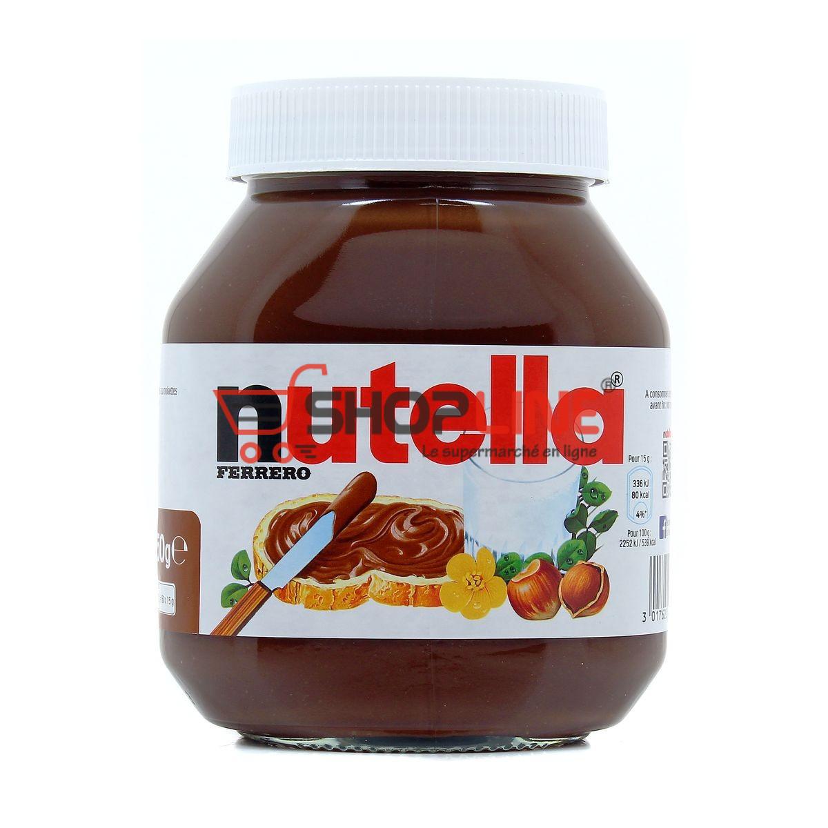 Crème à tartiner Nutella 750g
