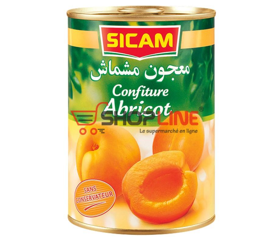 Confiture Abricot Sicam (470g)