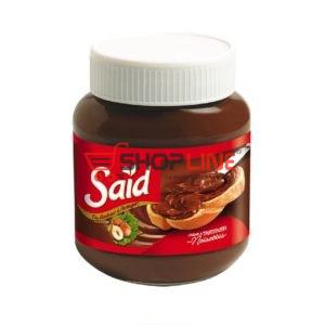 Pâte à tartiner aux Noisettes et cacao Said Pot de 350g