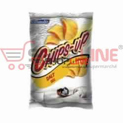 Chips au sel Chips-up Céréalis Paquet de 75g