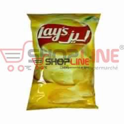 Chips au sel Lays Paquet de 100g