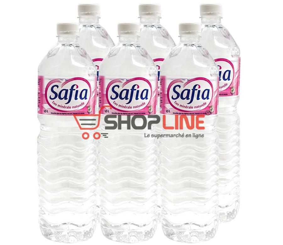 Eau minérale Safia 6x 1.5L