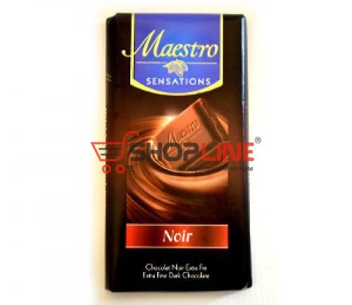 Chocolat Noir Maestro Tablette de 90g