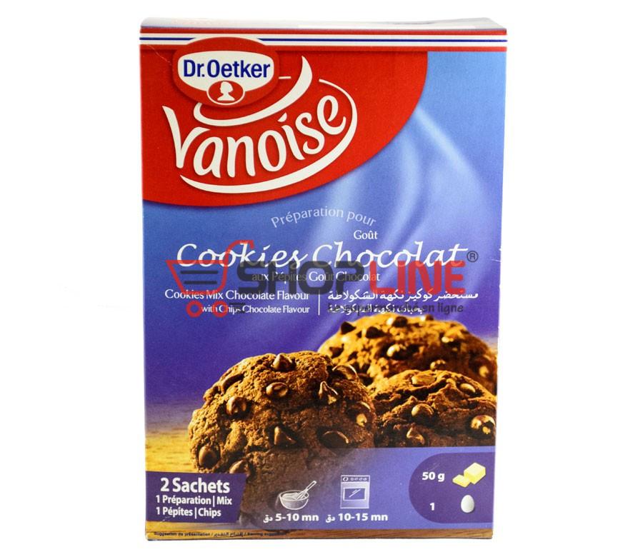Préparation pour Cookies au Chocolat Vanoise Paquet de 332g