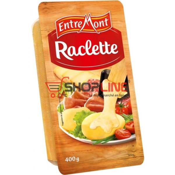 FROMAGE RACLETTE ENTREMONT 400 GR