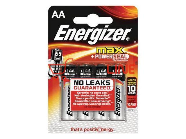 Pack de 4 piles Energizer AA